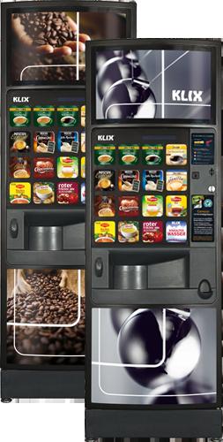 klix kaffeeautomat klix produkte f r incup automaten. Black Bedroom Furniture Sets. Home Design Ideas